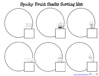 Market Pantry Spooky Snack Graphing Activity