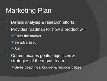 Market Planning PowerPoint