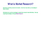 Market Research - Lesson 1/3 - Primary & Secondary Marketi
