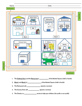 Market Square Map (Goods and Services)