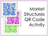 Market Structures QR Code Scavenger Hunt and Activity