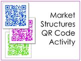 Market Structures QR Code Scavenger Hunt and Activity