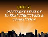Unit 7: Market Structures Lecture