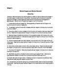 Market Supply and Market Demand Scenarios