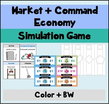 Economic System Simulation Game