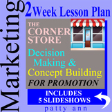 Marketing 2-Week Outline Lesson Bundle>Project-Activity & Store Promotion > PPTS
