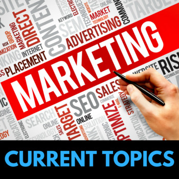 Marketing Lessons - Current Topics to Engage Teens
