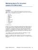 Marketing Basics for Educators  Lessons and Worksheets