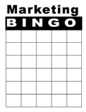 Marketing Bingo