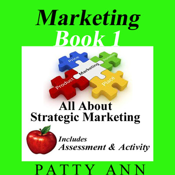 Marketing Book 1 > All About Strategic Marketing + Activity & Quiz Included!