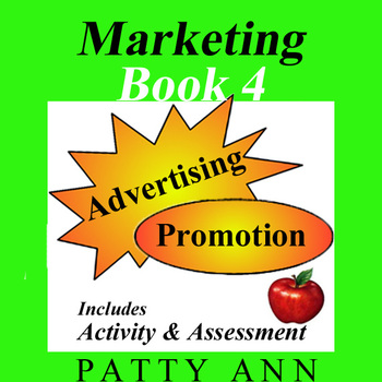 Marketing Book 4 > Advertising & Promotion + Activity & Assessment!