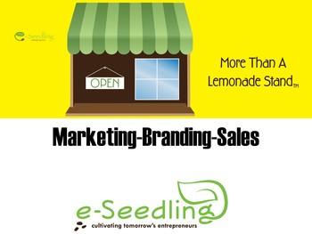 Marketing, Branding and Sales Basics