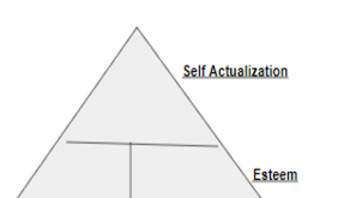Marketing/Business: Maslow's Hierarchy of Needs Consumer Behavior Activity