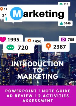 Marketing Chapter 1 Introduction to Marketing