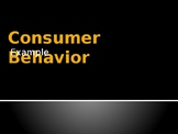 Marketing - Consumer Behaviour