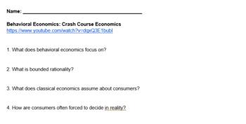 Marketing Consumer Motivation Crash Course Economics Guide/Answer Key