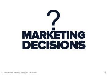 Marketing Decisions