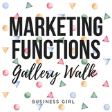 Marketing Functions Gallery Walk
