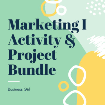 Marketing I Activity Bundle