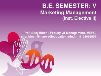 Marketing Management PPT