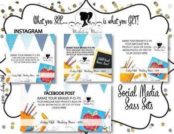 Marketing Maven BRIGHT DAY SOCIAL MEDIA: Instagram & Facebook Images