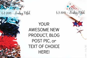 Marketing Maven JULY Tassels DECORATIVE: Product Mockup, Blog & Social Media