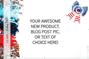 Marketing Maven JULY Tassels DECORATIVE: Product Mockup, Blog & Social Media