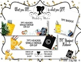 Marketing Maven VINTAGE SCHOOL MEGA PACK: Product Mockup, Blog & Social Media