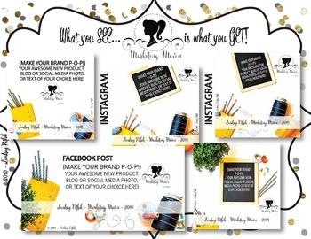 Marketing Maven VINTAGE SCHOOLHOUSE SOCIAL MEDIA: Instagram & Facebook Images