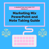 Marketing Mix/4 P's of Marketing PowerPoint and Note Taking Guide