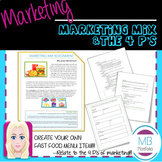 MARKETING- Marketing Mix & the 4P's Fast Food Assignment