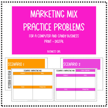 Marketing Mix Practice Problems (The 4 P's of Walmart and Coca-Cola)