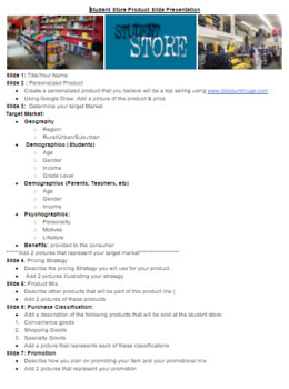 Marketing Mix (Product) Complete Unit Guided Notes, Activities, Projects, etc