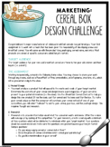Marketing Mix Project: Cereal Box Design Challenge