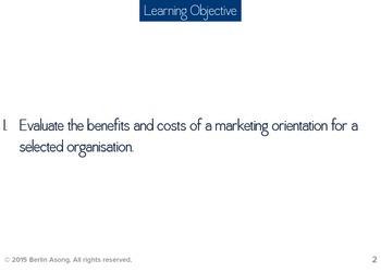 Marketing Orientation