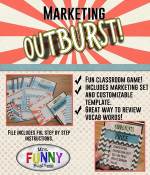 Marketing Outburst Review Game