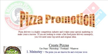 Marketing Pizza Party Promotion