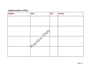 Marketing Plan Template for small business or sole trader