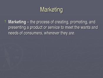 Marketing PowerPoint Presentation