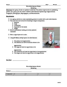 Sports Marketing & Business: Marketing Print Advertisement Project