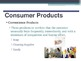 Marketing - Product Classification