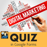Marketing Quiz in Google Forms - Digital Marketing Buzzwords