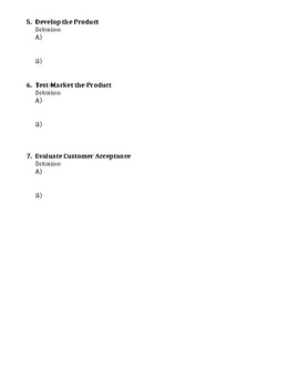 Marketing Research Handout - Intro to Business Ch. 13