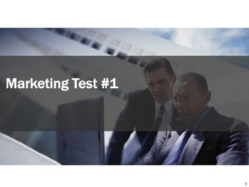 Marketing Test #1