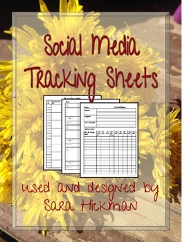 Marketing Tracking Sheets