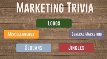 Marketing Trivia Game
