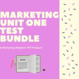 Marketing Unit 1 Test Bundle