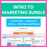 Marketing Unit Activity Bundle