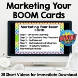 Marketing and Advertising Your Boom Cards
