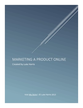 Marketing A Product Online